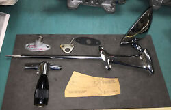 53-54 Chevy New Old Stock Remote Control Rear View Mirror Outside