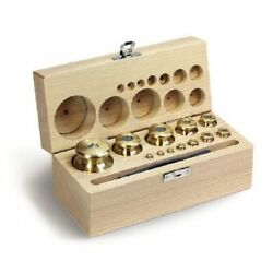 Kern 343-08 M1 1 Mg - 5 Kg Set Of Weights In Wooden
