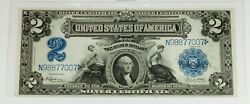 1899 2 Silver Certificate In Choice Uncirculated Condition Fr258 Speelman White