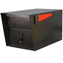 Mail Manager Locking Post-mount Mailbox With High Security Reinforced Patented L