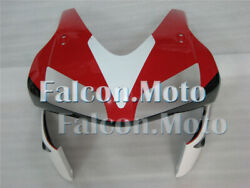 White Red Black Front Nose Cowl Fairing For Honda 03-04 Cbr 600rr F5 Injection