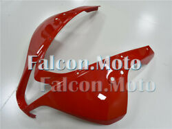 Injection Front Nose Cowl Upper Fairing Fit For Honda 07-08 Cbr 600rr F5 Red Aas