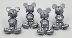 Mickey Mouse Cabinet Drawer Pulls Knobs Handles - Lot Of 4 Usa Seller
