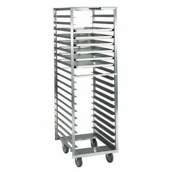 Lakeside 172 Stainless Steel Narrow Opening Pan Rack - Holds 18 18x26 Trays