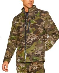 Under Armour Men's Stealth Extreme Wool Forest Camo Jacket And Pants - L