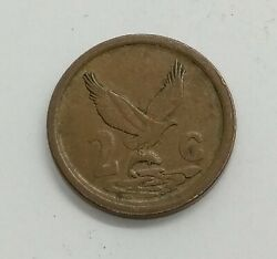 South Africa 1993 2 Cents Km 133 | African Coin