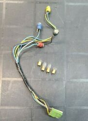 1967 1968 Mustang Convenience Group Control Warning Light Wiring Harness W Bulbs