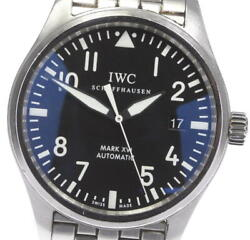 Pilot Mark 16 Iw325504 Date Black Dial Automatic Menand039s Watch_591083