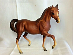 NICE VINTAGE BREYERS HORSE 8quot; GENTLY PLAYED WITH DON#x27;T KNOW NAME