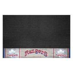 Fanmats 2028 Texas Rangers Retro Collection Grill Mat 26in. X 42in. 1972