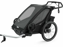 New - Thule Chariot Sport 2 - Bike Trailer For 2 Kids - Free Int Shipping