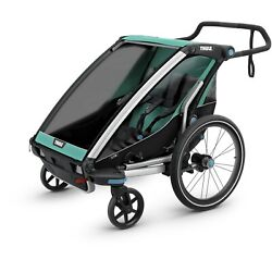New - Thule Chariot Lite 2 - Bike Trailer For 2 Kids - Free Int Shipping