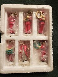 Department 56 Salvation Army Band - Set Of 6- Heritage Village Accessory