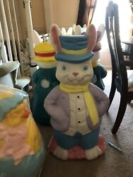 New Mr. Rabbit Easter Blow Mold