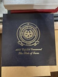 1997 Texas State Capitol - Texas State Seal Christmas Ornament