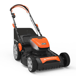 20 In. 60-volt Cordless Brushless Lithium-ion 4.0ah Rwd Self-propelled Lawn Mowe