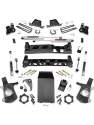 Rough Country Suspension Lift Kit 4 In Lift Brackets / Bushings / Hardwandhellip 25830