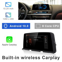 8-core Android 10 Car Gps Screen Media Wireless Carplay For Bmw 6 Series F06 F12