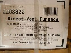 Williams 2203822 Direct Vent Wall Heater 22000 Btuh 67 Afue Natural Gas