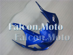 New Blue Front Nose Cowl Upper Fairing Fit For 1998-2002 Yzf600 R6 Injection Aap