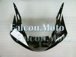 Front Nose Cowl Upper Fairing Fit For 1998-2002 Yzf R6 Injection White Black Aal