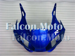 Front Nose Cowl Upper Fairing Fit For Yamaha 1998-2002 Yzf R6 Injection Blue Aab
