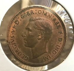 Great Britain 1943 Bronze 1/2 Penny You Judge Condition