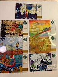 Very Rare Starbucks Japan 2010 City Card 1st Issue Number -7 Card Us Seller