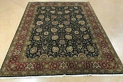 8' X 10' India Hand Knotted Area Rug No H 142360