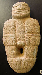 Pre-columbian Stone Effigy Diquis Style South West Costa Rica 600-1200ad