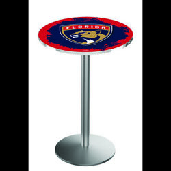 Holland Bar Stool Co. L214s3636flapan 36 Stainless Steel Florida Panthers Pub