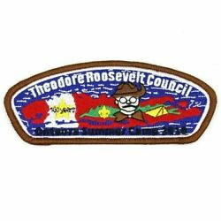 2010 100th Anniv. Onteora Camp Sa-110 Csp Theodore Roosevelt Council Patch Ny