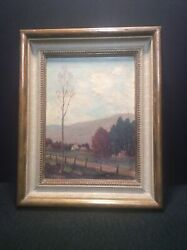 L. A. Kebbon Canadian Impressionist Oil On Canvas Painting