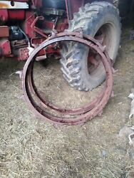 John Deere Jd Unstyled A B G D Tractor Styled Steel Wheel Extension