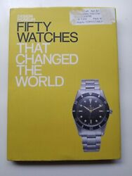 Fifty Watches That Changed World Design Museum Fifty - Hardcover