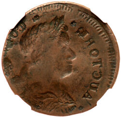 1787 M 33.8- Obverse Brocage Ngc Xf 40 Connecticut Colonial Copper Coin
