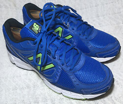 New Balance Mens 470 V4 M470sb4 Blue Running Shoes Lace Up Low Top Size 9.5 D