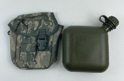 New Air Force Usaf Abu Dflcs 2 Quart Canteen And Pouch Molle Df-lcs Gp Utility Mwd