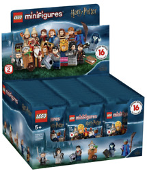 Lego New Harry Potter Collectible Minifigures 71028 Case Of 60 Minifigures