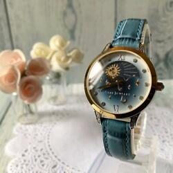 Star Jewelry 2018 Summer Limited Moon Phase Watch From Japan Used B45