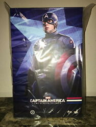 Hot Toys Mms240 Captain America Winter Soldier 1/6 Captain America Golden Age