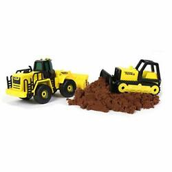 Metal Movers Combo Pack Mighty Dump And Front End Loader, Dumper Truck Toy