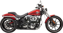 Bassani Radial Sweepers Exhaust Chrome - Harley-davidson Softail 1986-2017