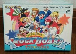 New Rock Board Rockman Wily Right Thatand039s Paradise / Fc Nes Japanese Version