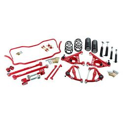 For Chevy Malibu 78-83 2 X 2 Stage 3 Front And Rear Handling Lowering Kit