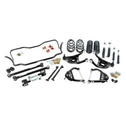 For Chevy Malibu 65-66 2 X 2 Stage 3 Front And Rear Handling Lowering Kit
