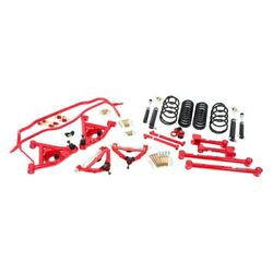 For Chevy Malibu 78-83 1 X 1 Stage 3 Front And Rear Handling Lowering Kit
