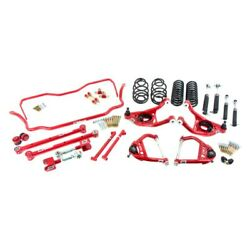 For Chevy Monte Carlo 70-72 2 X 2 Stage 3 Front And Rear Handling Lowering Kit