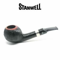 Stanwell - Pipe Of The Year 2021 - Brushed Black - 9mm Filter Pipe