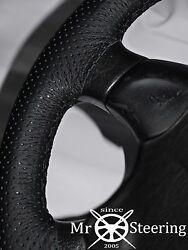 Fits Volvo Vnl 780 Truck Perforated Leather Steering Wheel Cover Double Stitch